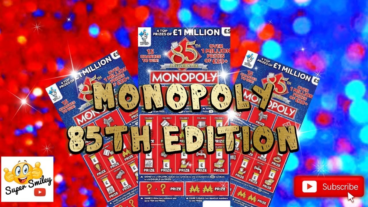 🎩 Monopoly 85th Edition Scratch Cards 🎩