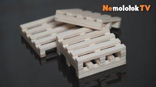 Выпиливаем лобзиком миниатюрные палеты с PlayMat!