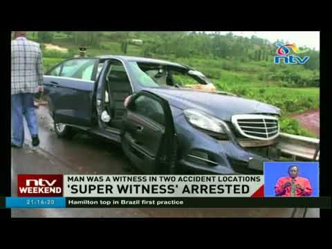 Man dubbed 'witness in chief arrested by police