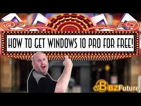 BZfuture Autumn Deals Video - Get A Free Win 10 key
