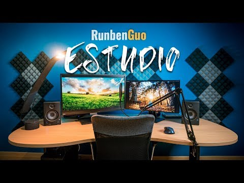 CÓMO CONSTRUIR ESTUDIO DE VÍDEO || YOUTUBE || RUNBENGUO
