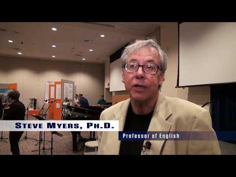 Exhibit: Poetry Meets Art at DeSales University | Dr. Steve Myers