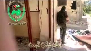 Baas Tugayları Eski Doğu Halep Mahallelerini Karış Karış Geziyor 29 04 2013