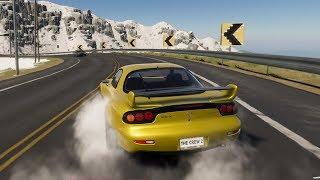 The Crew 2 - Mazda RX-7 2002 (Drift) - Open World Free Roam Gameplay (PC HD) [1080p60FPS]