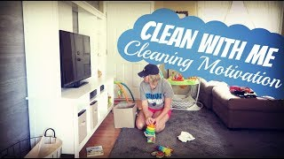 CLEAN WITH ME | CLEANING MOTIVATION | SPEED CLEAN | Summer Whitfield