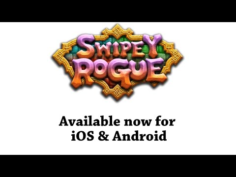 Swipey Rogue - Launch Trailer (August 27, iOS & Android)
