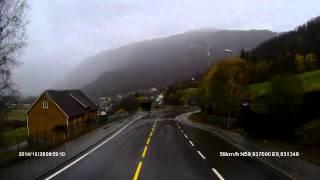 Fahrt nach Røldal