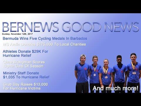 "Bernews ""Good News"" Sunday Spotlight, November 12, 2017"