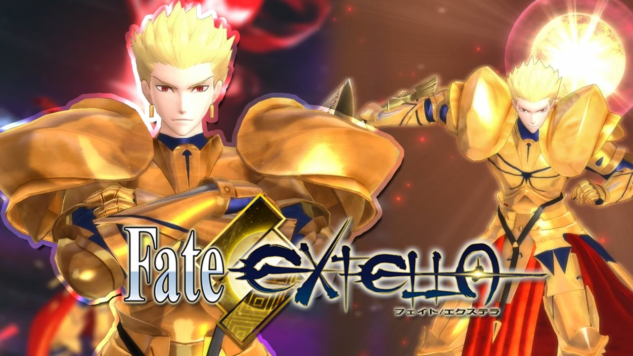 king of heroes gilgamesh gameplay fate extella the umbral star