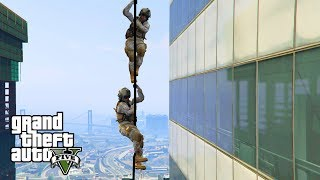 GTA 5 - RESCUING the President! Military ARMY Patrol Episode #66 (Navy SEALs, Airstrikes)