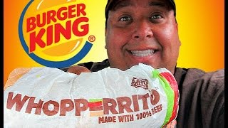 BURGER KING® WHOPPERRITO ™ Review!