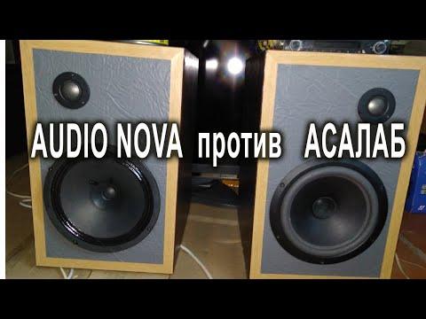 Широкополосники AUDIO NOVA SL-200DC в домашней акустике
