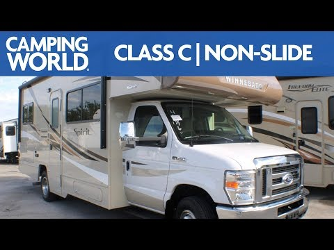 2019-winnebago-spirit-25b-|-class-c-motorhome---rv-review:-camping-world