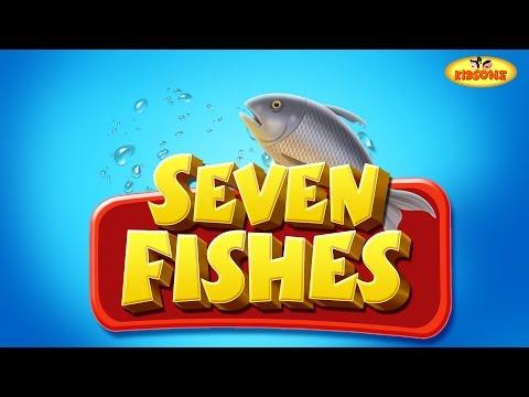 7 Fishes | English Short Stories For Children | KidsOne