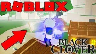 NOVO JOGO!! BLACK CLOVER NO ROBLOX - CLOVER ONLINE