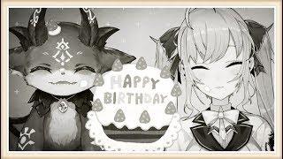 [LIVE] 【でびリオン】でびちゃんが誕生日を祝ってくれるそう