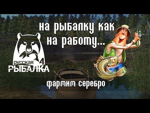 Заработать на рыбалке! Миф или реальность?  Русская Рыбалка 4Russian Fishing 4