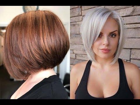 Cute short bob haircuts for women 2019