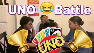 Uno Battle -THEY CHEATED ME !!! ( Game Night )