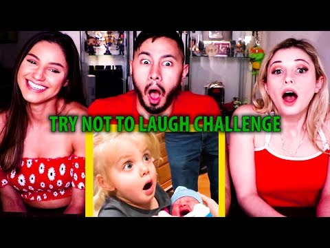 TRY NOT TO LAUGH OR GRIN WHILE WATCHING FUNNY KIDS | Reaction!