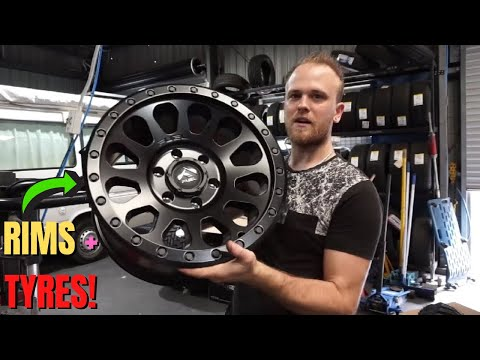 Isuzu MU-X Tyres and Rims - Fitting Fuel Offroad Rims and Atturo Trailblade M/Ts