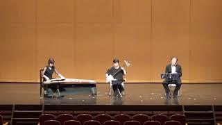 たまゆら(筝曲)三絃、筝、尺八の合奏です。
