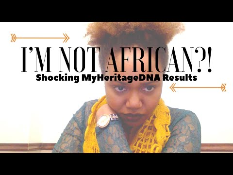DUH I'm African!!! 🤣 INCOMPLETE MyHeritage DNA 1st Results