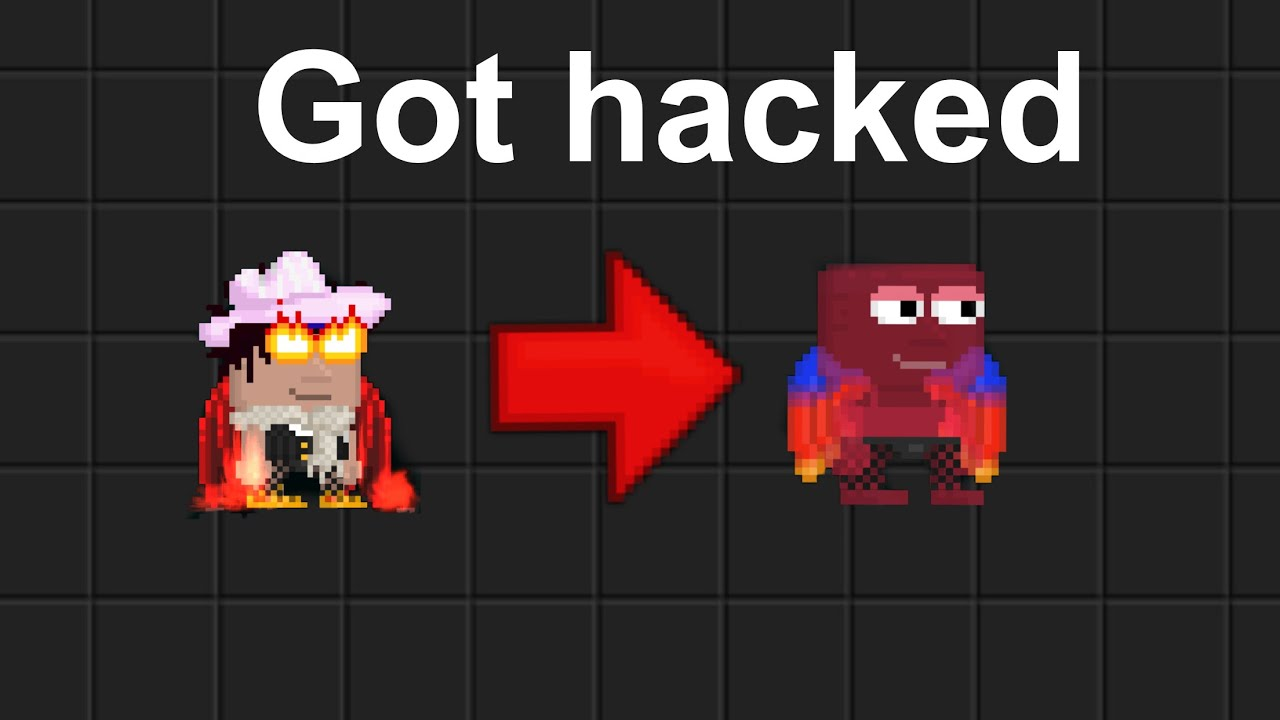 I got hacked again.. (growtopia)