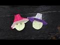 简单折纸 时尚 纸帽子