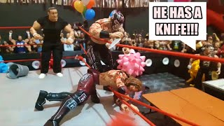 THIS WWE FIGURE PPV WAS INSANE!