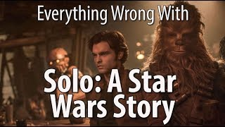 Here's a movie that wants to play the hits so much it kind of loses itself along the way. But it's still a lot of fun. And full of sins. Here are all the sins we found in Solo: A Star Wars Story.  Thursday: Sins of great size.  Remember, no movie is without sin! Which movie's sins should we expose next?!  Patreon: https://www.patreon.com/CinemaSins   Podcast: https://soundcloud.com/cinemasins   TVSins: https://www.youtube.com/channel/UCe4bOvc1mYxFcQ5xPb9Zmow   MusicVideoSins: https://www.youtube.com/channel/UCUBq8oBRVTsMpjWiHfjJpDw   Twitters... Jeremy: http://twitter.com/cinemasins  Barrett: http://twitter.com/musicvideosins  Aaron: http://twitter.com/aarondicer  Jonathan: http://twitter.com/samloomis13      Subreddit: http://reddit.com/r/cinemasins   Website: http://cinemasins.com   SinCast Facebook page: https://www.facebook.com/SinCastCinemaSins Merch: https://teespring.com/stores/cinemasins-store