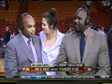 Charles Barkley Meets Lynda Carter