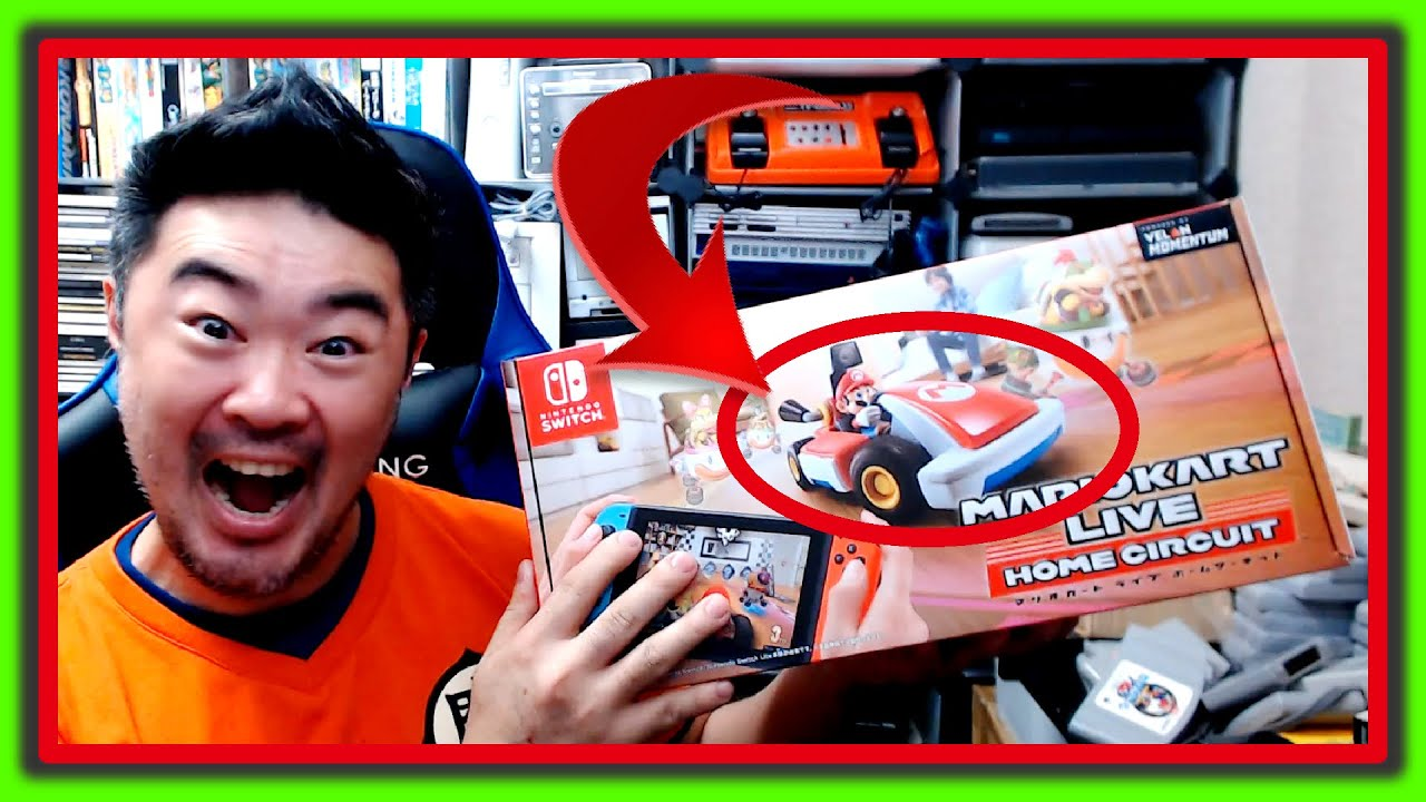 Mario Kart Live Home Circuit UNBOXING