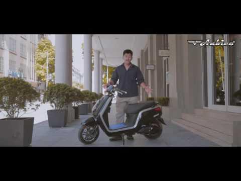 Đánh giá xe máy điện Anbico Dina