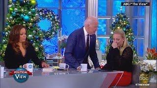 VIDEO: Biden consoles daughter of ailing Arizona Sen. John McCain