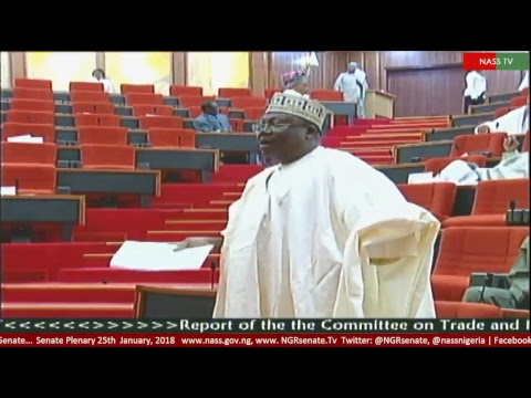 Senate Plenary, 25th January, 2018