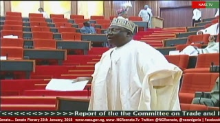 Senate Plenary, 25th January, 2018
