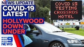 Coronavirus update, NSW mystery cases, Hollywood down under | 9 News Australia