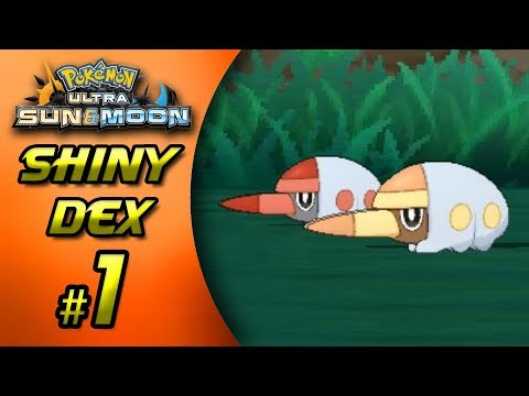 SHINY GRUBBIN AFTER ONLY 70 SOS CHAIN!! | Pokemon Ultra Sun & Moon Shiny Hunts