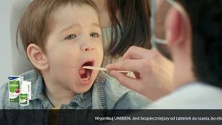 Uniben - sprawdzony lek na ból gardła