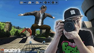 SKATE 3 - Getting Realistic Clips at ART GALLERY