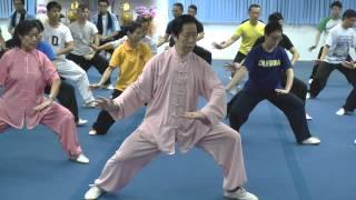 Repeat youtube video 武術頻道: 陳式太極 (陳國華師傅 - 香港太極武術學院)  (上)