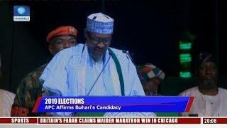 APC Affirms Buhari's Candidacy For 2019 Elections   Sunday Politics  