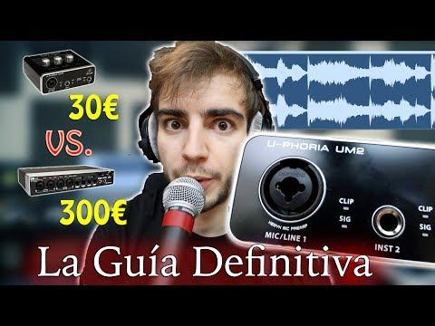 Cómo sonar a estudio con una tarjeta de sonido BARATA 30€. Interfaz de audio Behringer U-Phoria UM2
