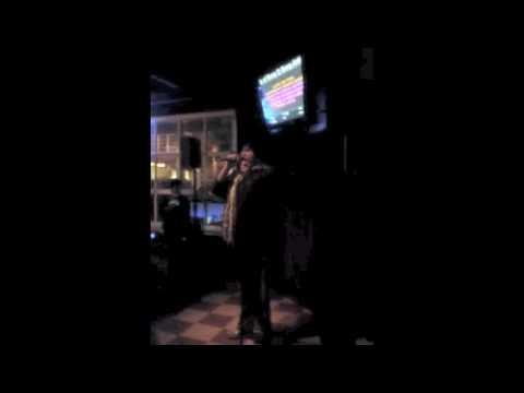 Jay Martinez singing Karaoke 3.1.2010