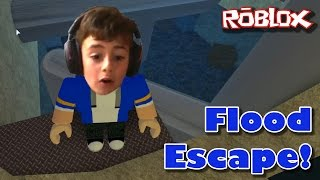 Roblox Let's Play: Flood Escape - Kid Gaming