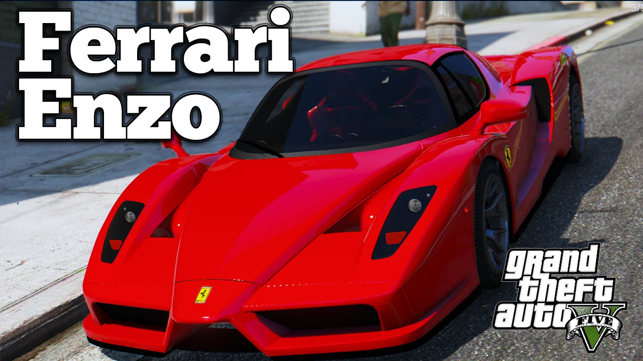 Gta V Pc Mods Ferrari Enzo Download Youtube