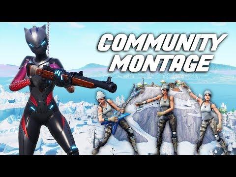 "Fortnite Community Montage - ""UPSIDE DOWN"""
