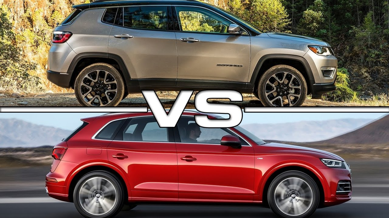 Jeep Compass Vs Jeep Cherokee >> 2017 Jeep Compass vs 2017 Audi Q5 - YouTube