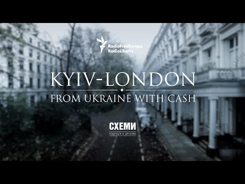 Kyiv - London. From Ukraine with Cash